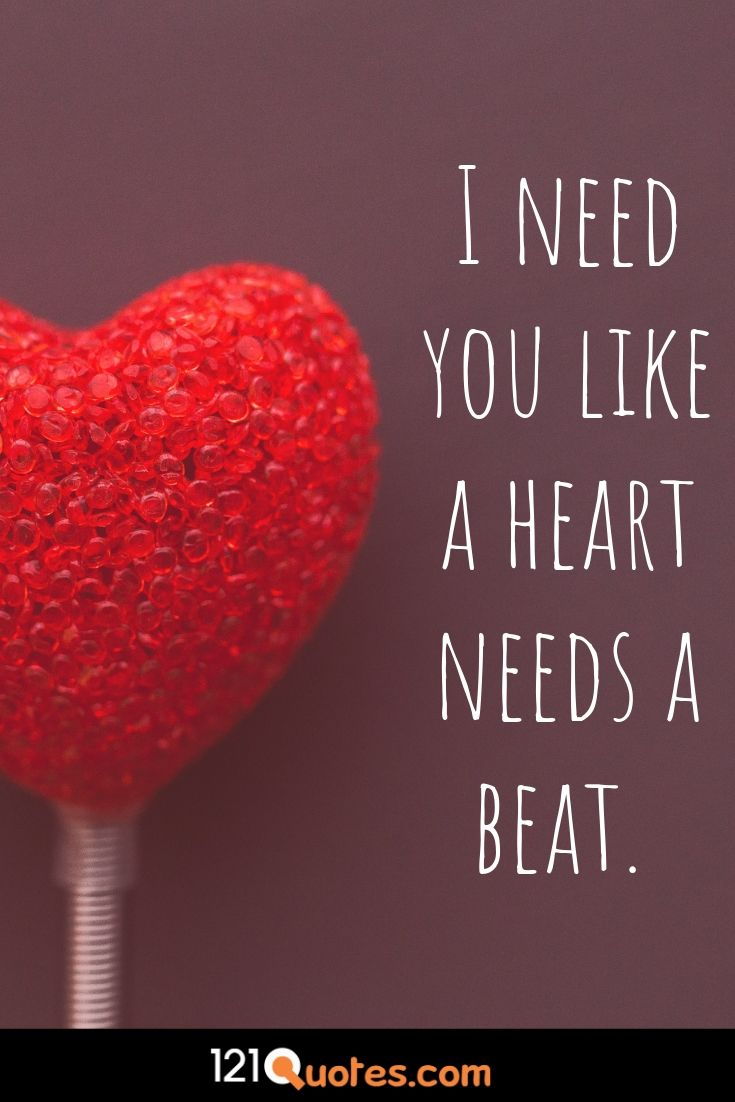 short love quotes for him from the heart