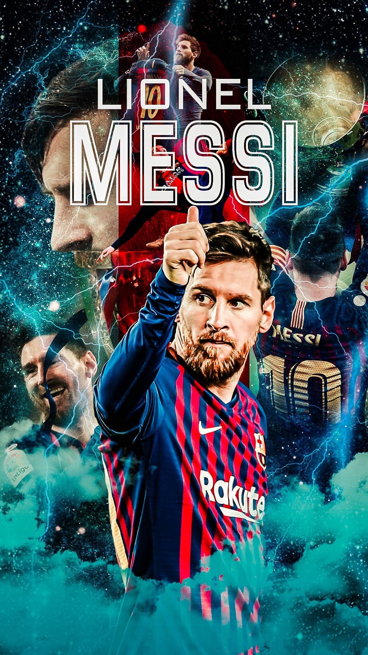cool messi wallpapers