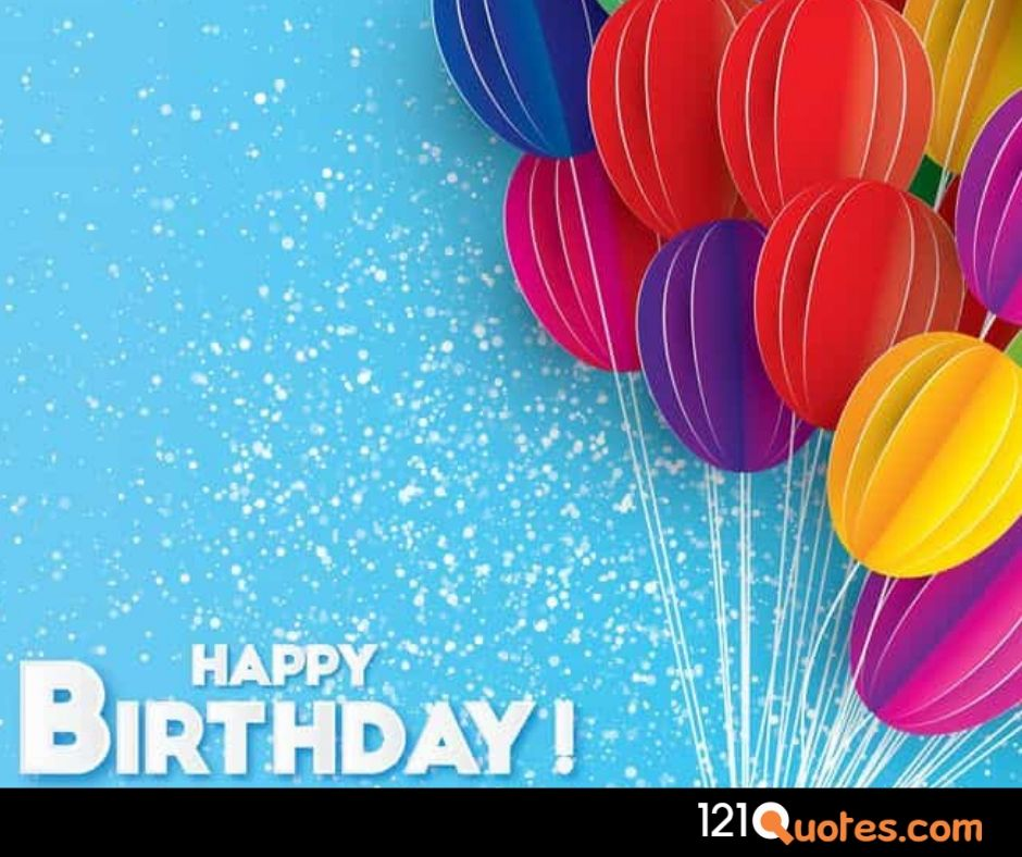 happy birthday balloons images