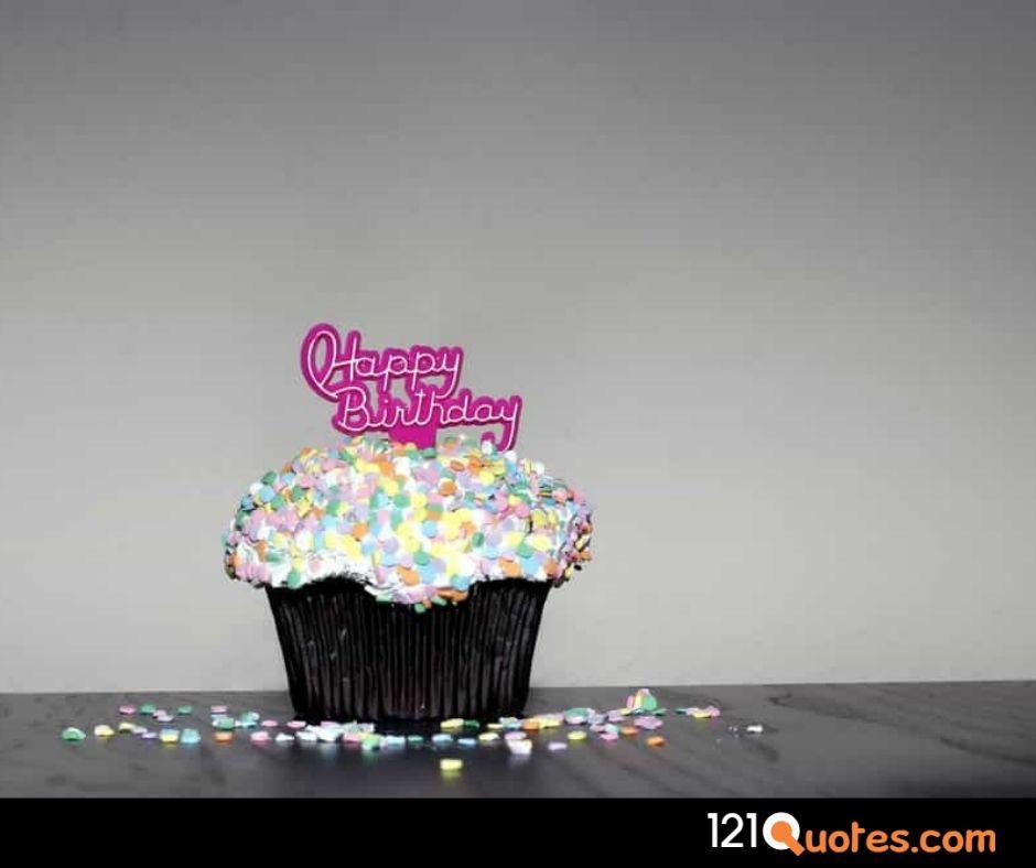 happy birthday cake with photo