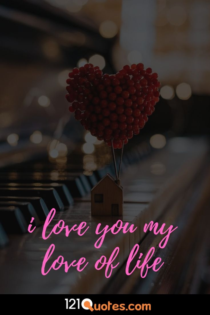 i love you image with heart