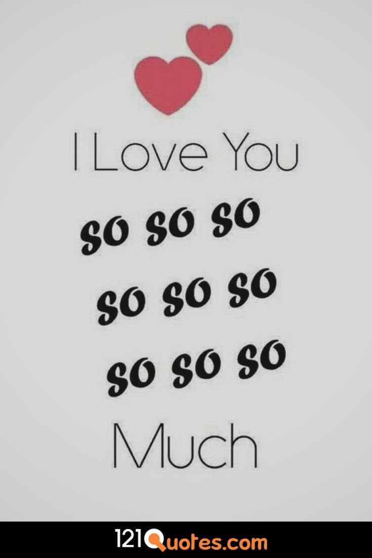i love you more and more each day image