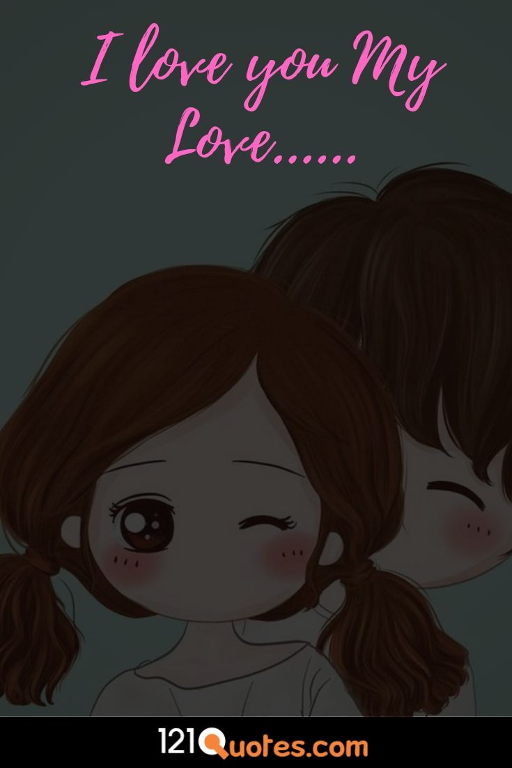 i love you my love images