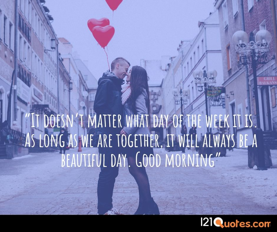 lovely good morning images with quotes for lover