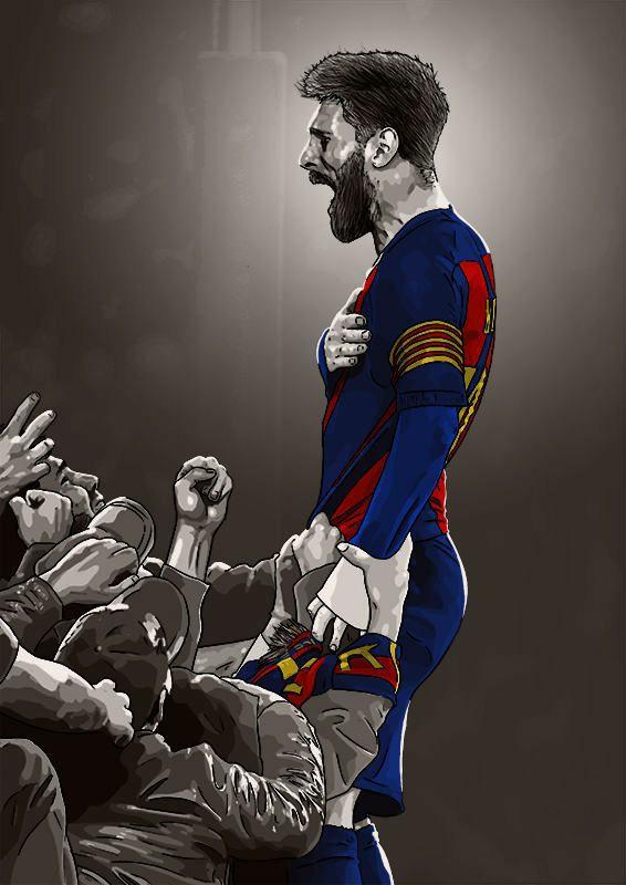 messi football wallpaper
