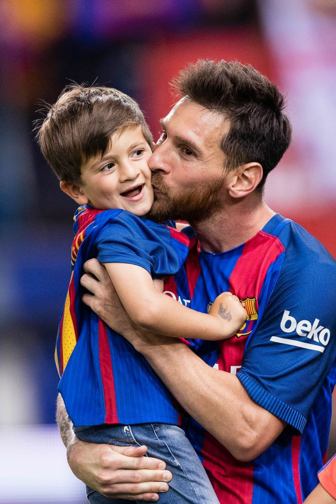 messi son images