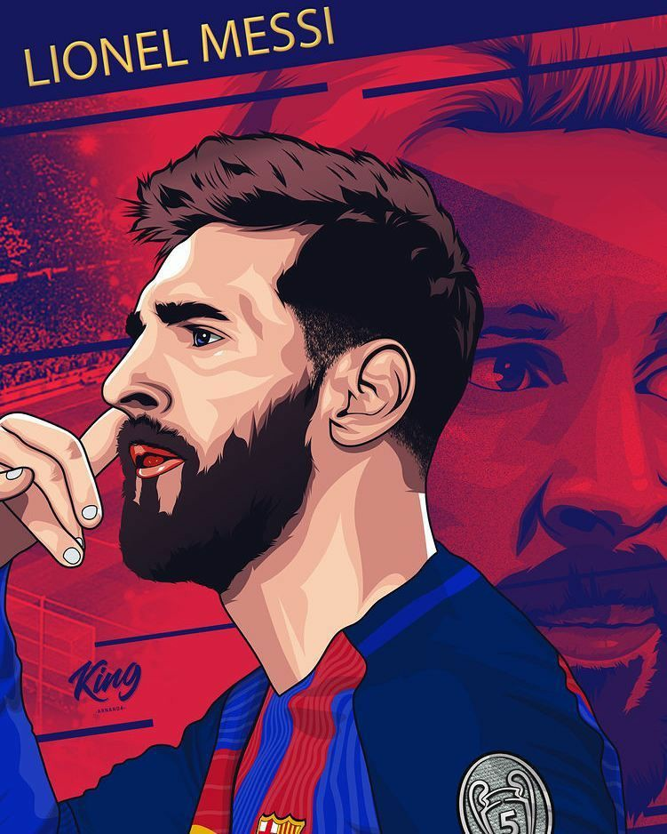 messi vector images for free download in hd
