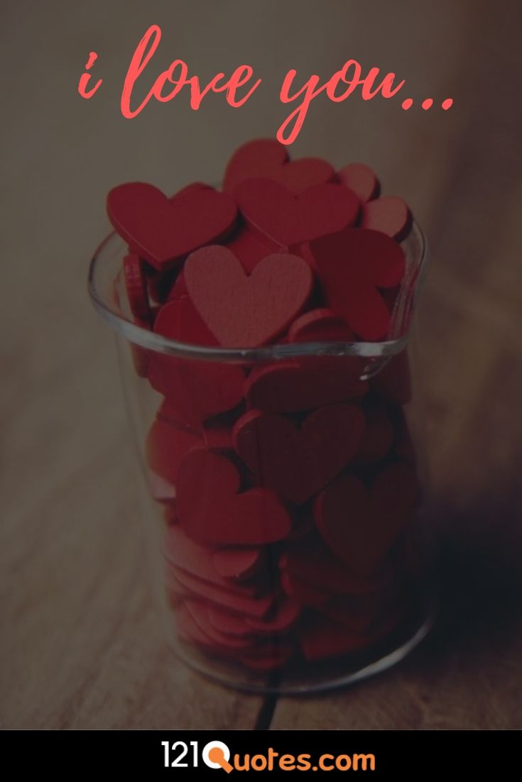 picture of a hearts that says i love you
