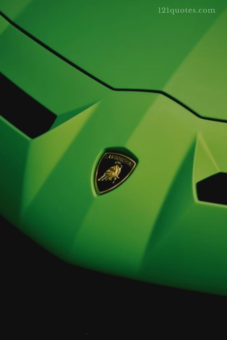 pictures of a green lamborghini