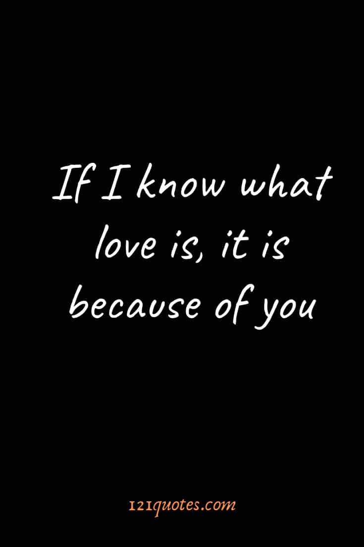 short love quotes for him in english