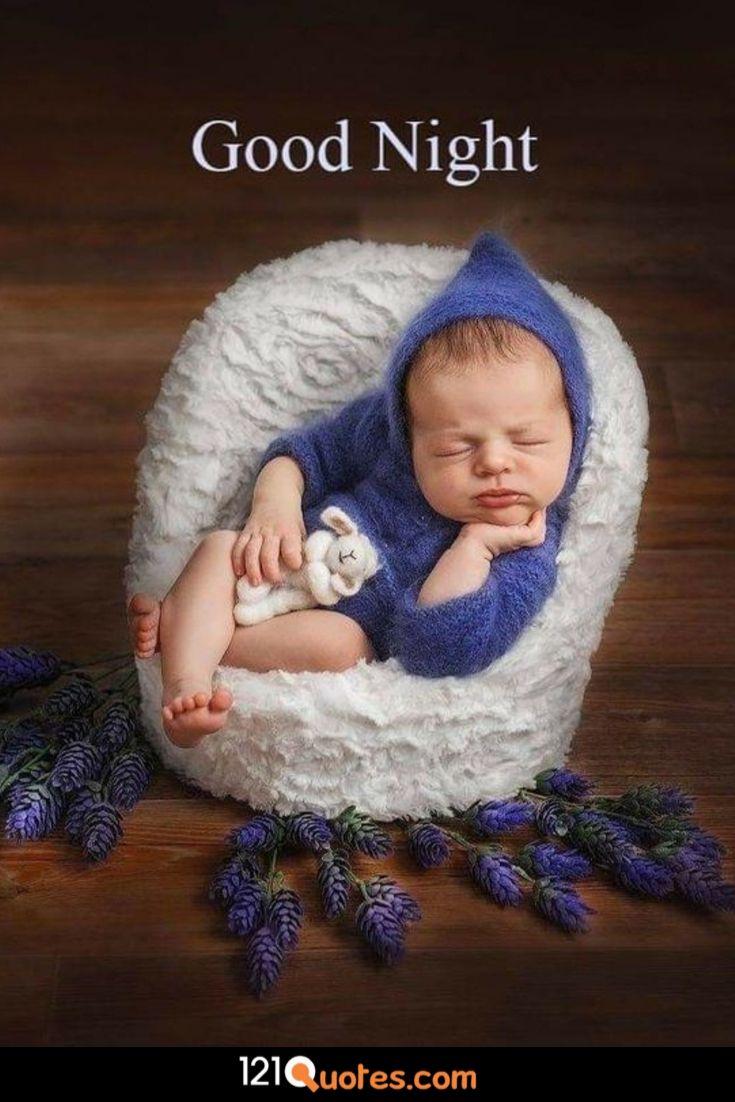 baby good night image