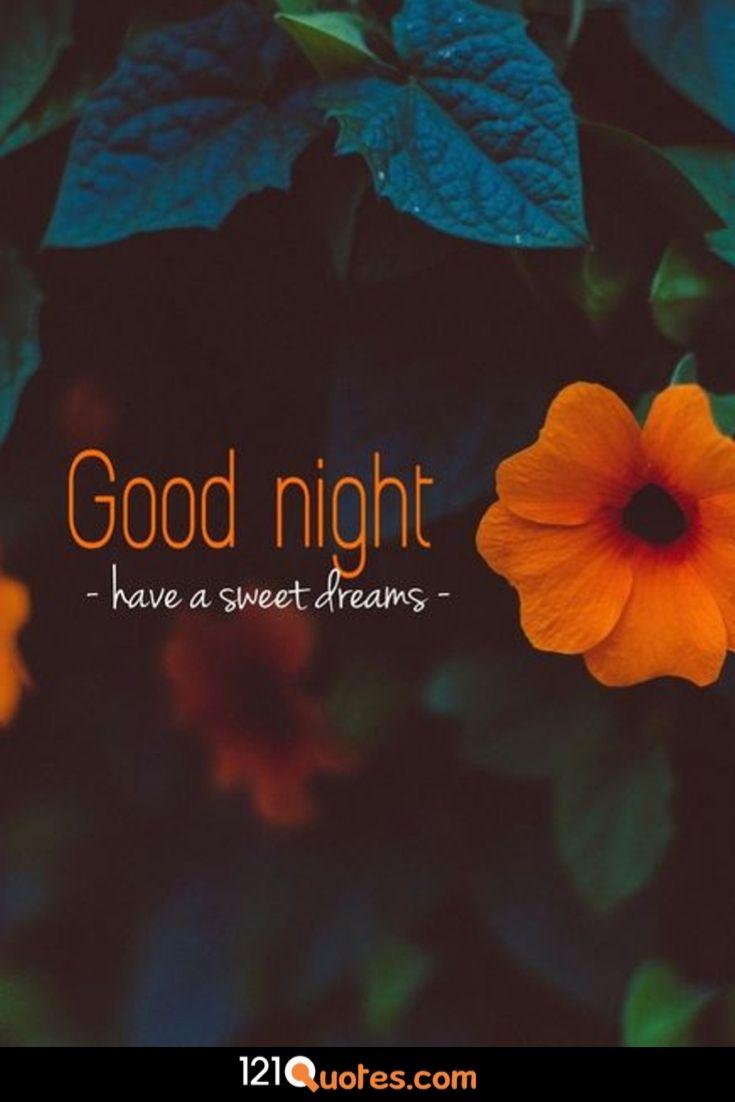 beautiful sweet dreams nature good night image