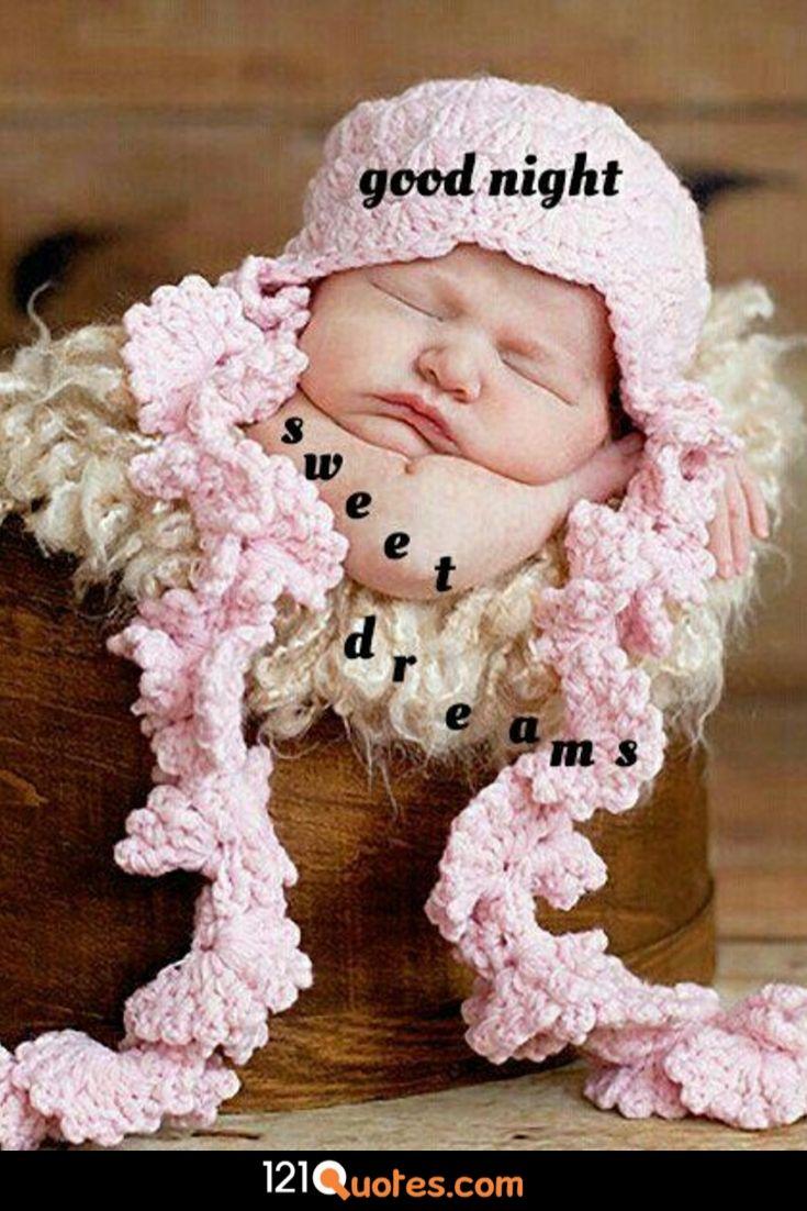 good night baby image