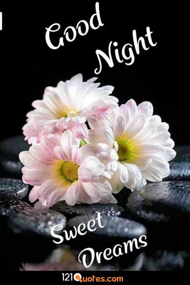 good night romantic couple image