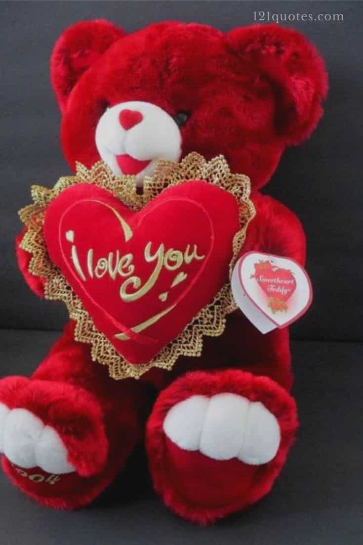 red teddy bear images