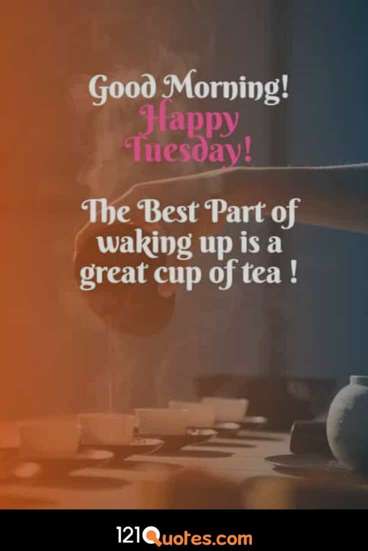 Good Morning Happy Tuesday Images with Quotes