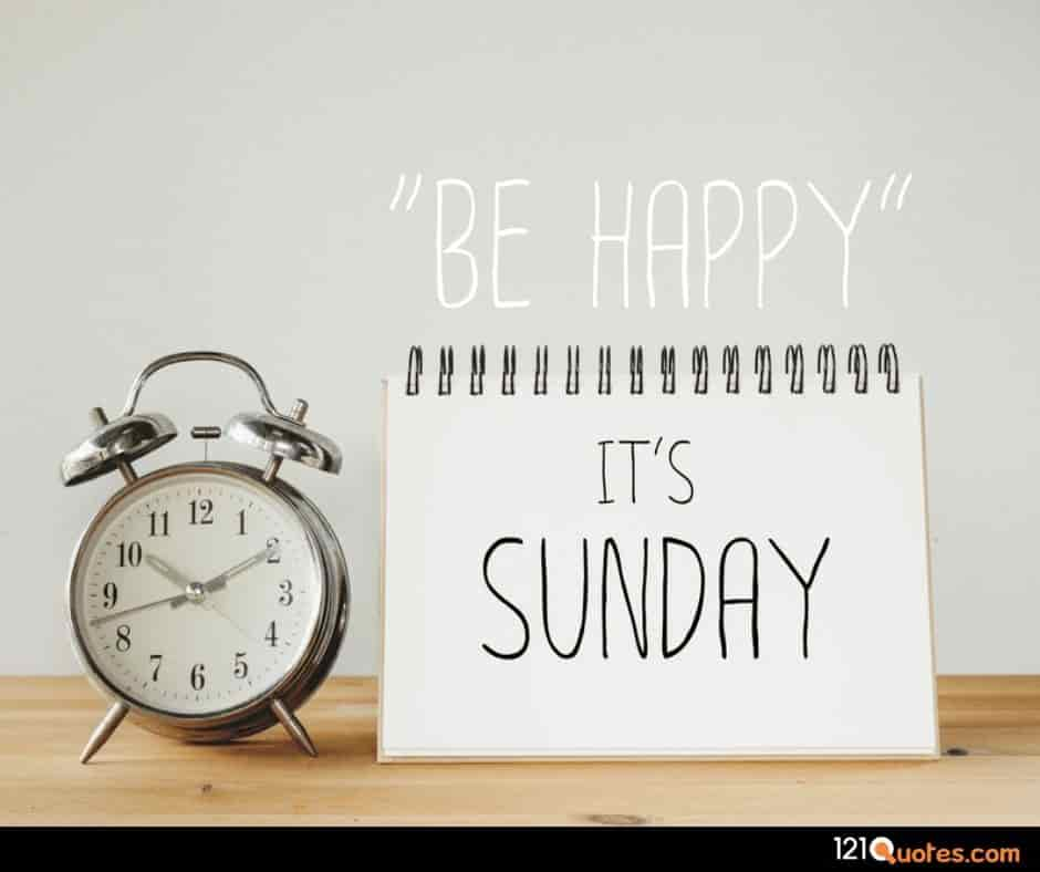 be happy it is sunday wallpaper