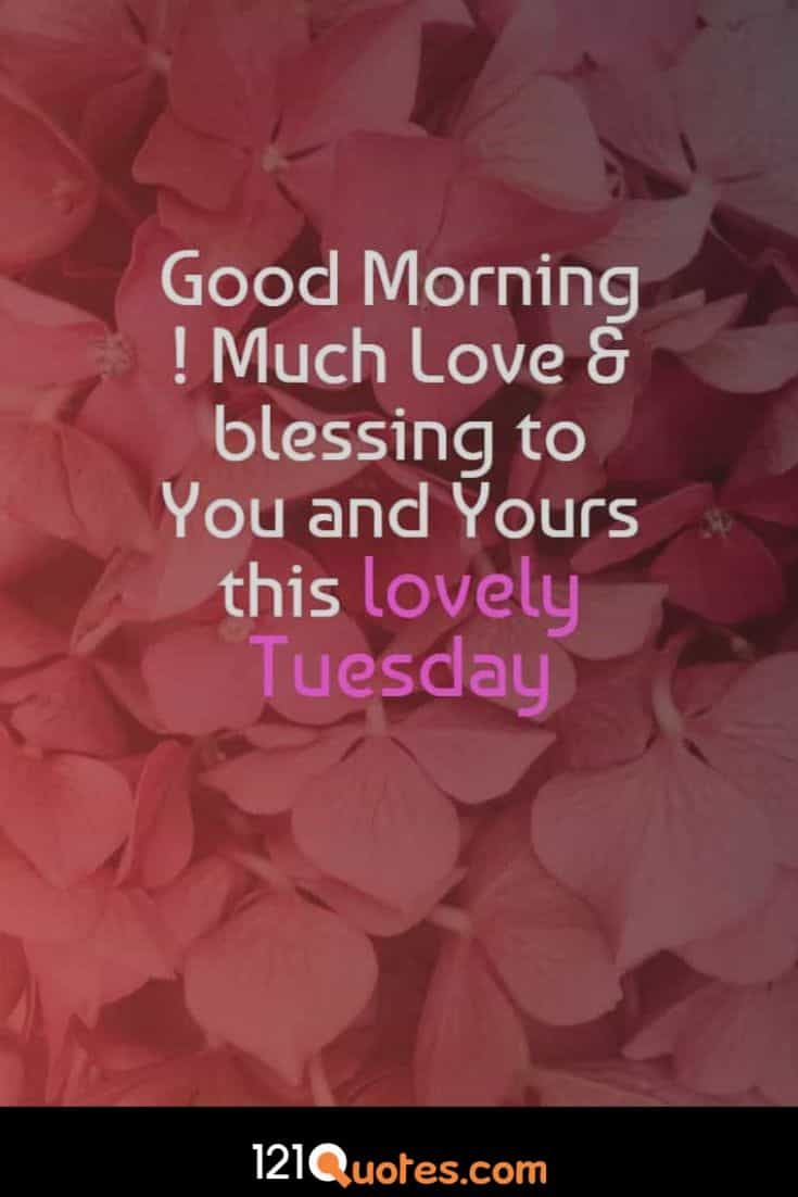good morning images with quotes for tuesday