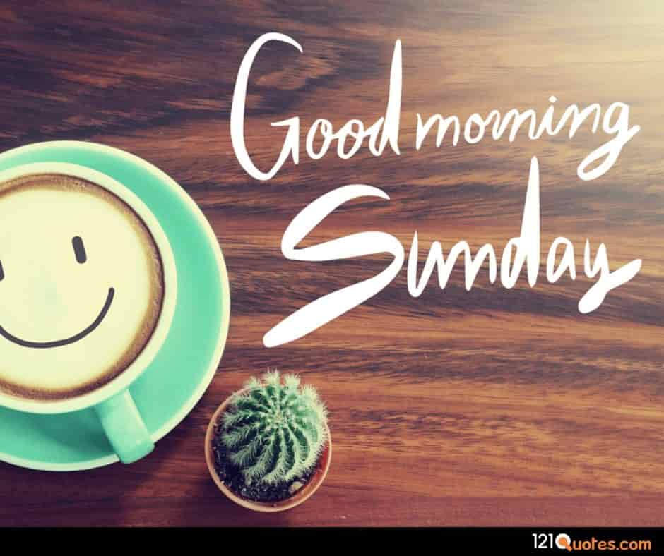 good morning sunday images coffee
