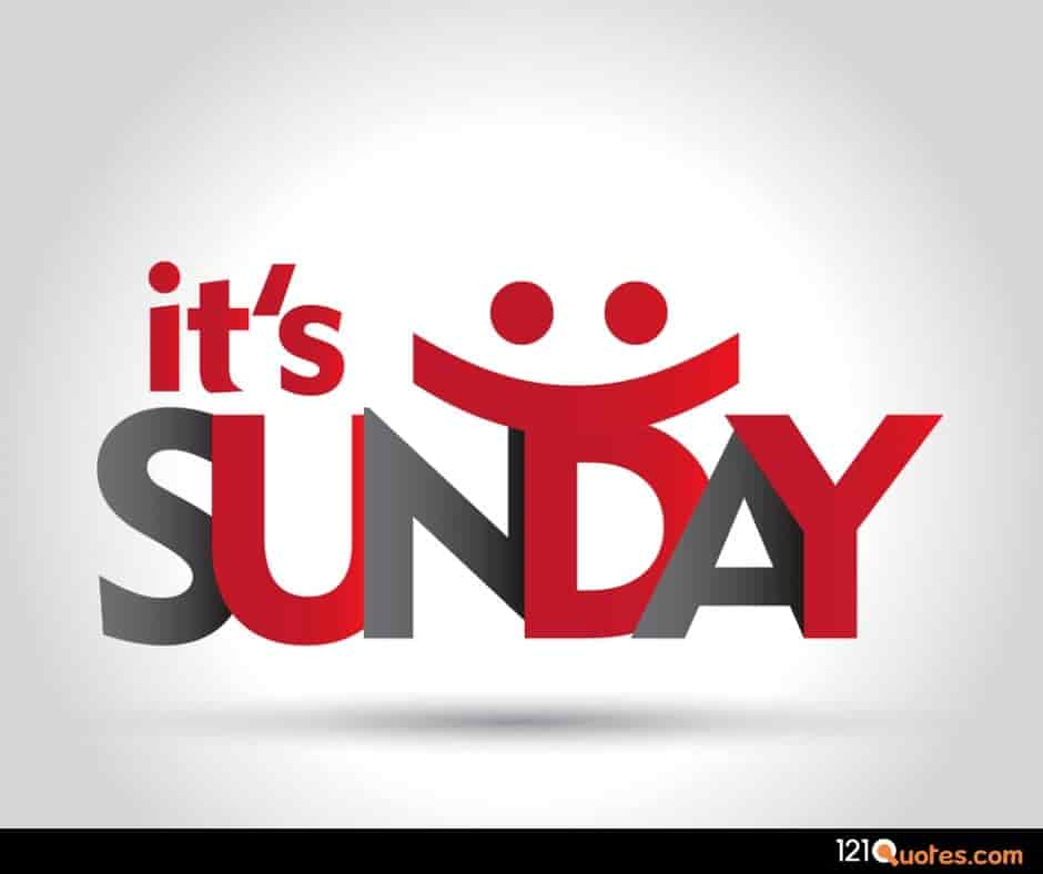 it is sunday with HD images