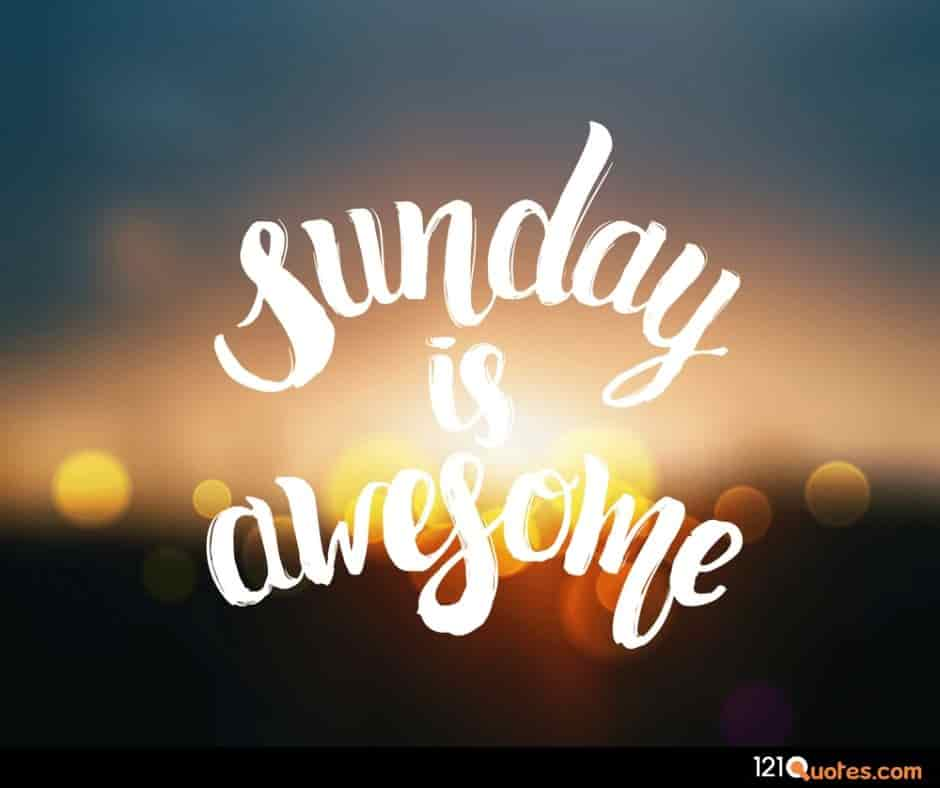 sunday is awesome wallpaper