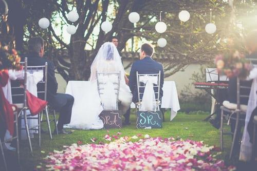 Wedding anniversary of husband