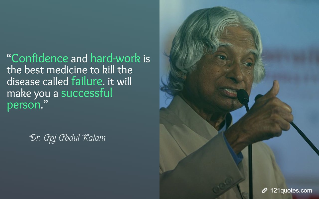 apj abdul kalam quotes on hardwork
