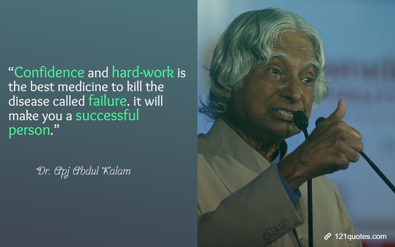 apj abdul kalam quotes on hardwork