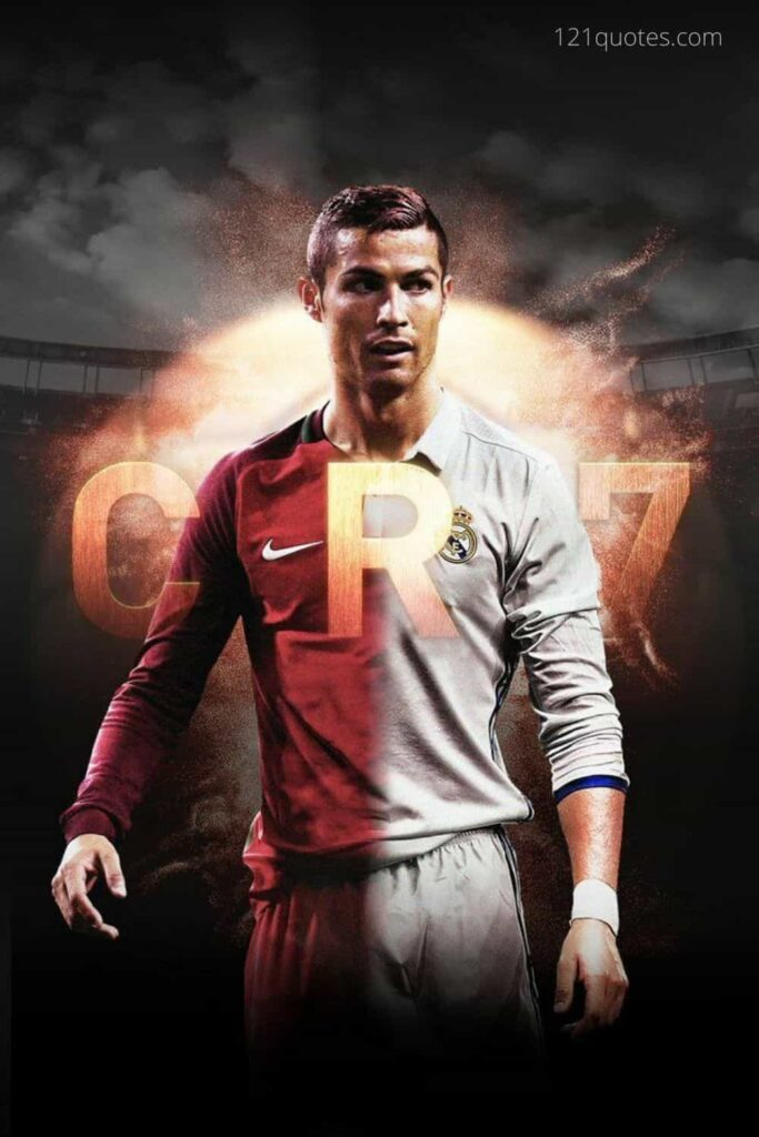 cr7 wallpaper with logo in hd for free download