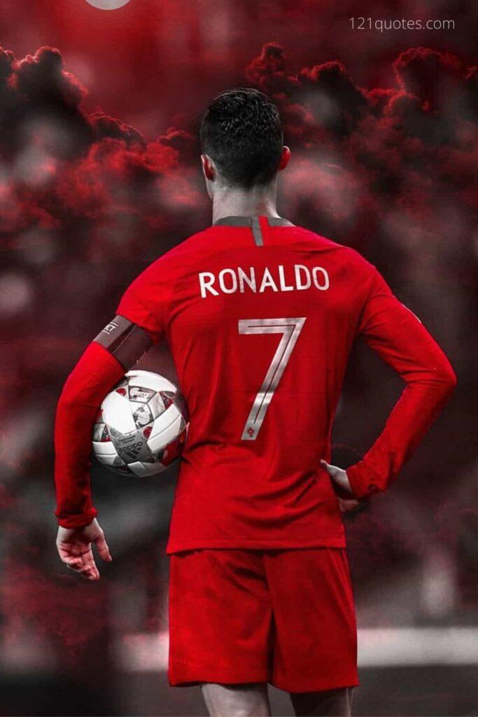 ronaldo champions league wallpaper