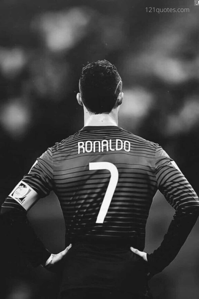 ronaldo wallpaper black and white