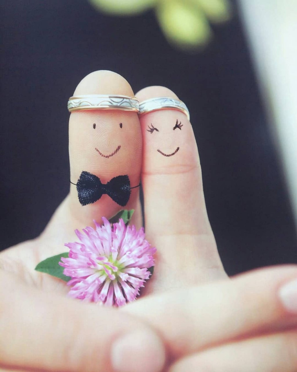 cute couple dolls images for facebook cover photo