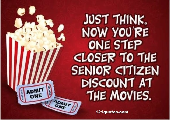 Movie Theater Funny Birthday Meme