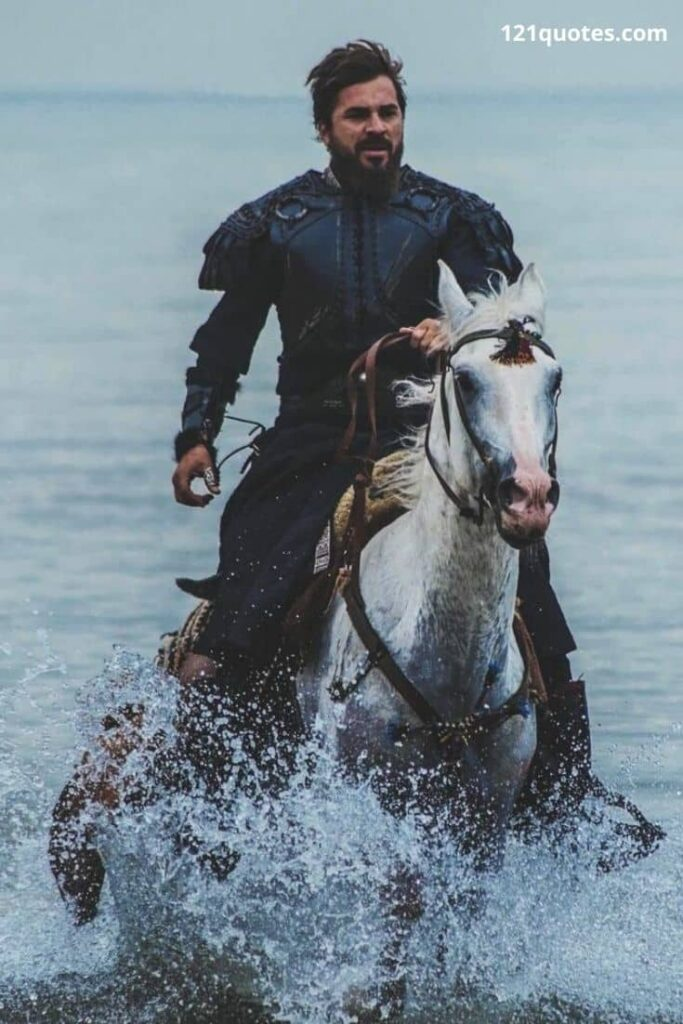 dirilis ertugrul images with horse in hd