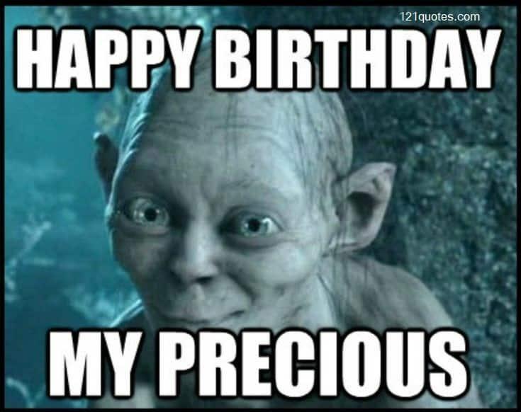 happy birthday my precious