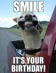 smile its you birthday funny birthday memes for him