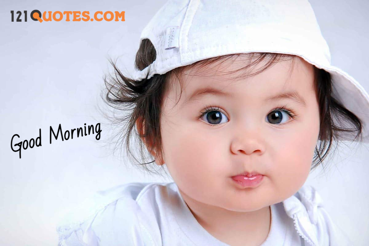 good morning images of baby girl