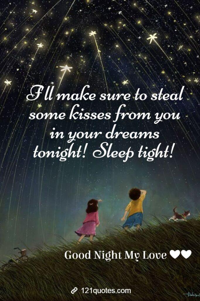romantic good night images