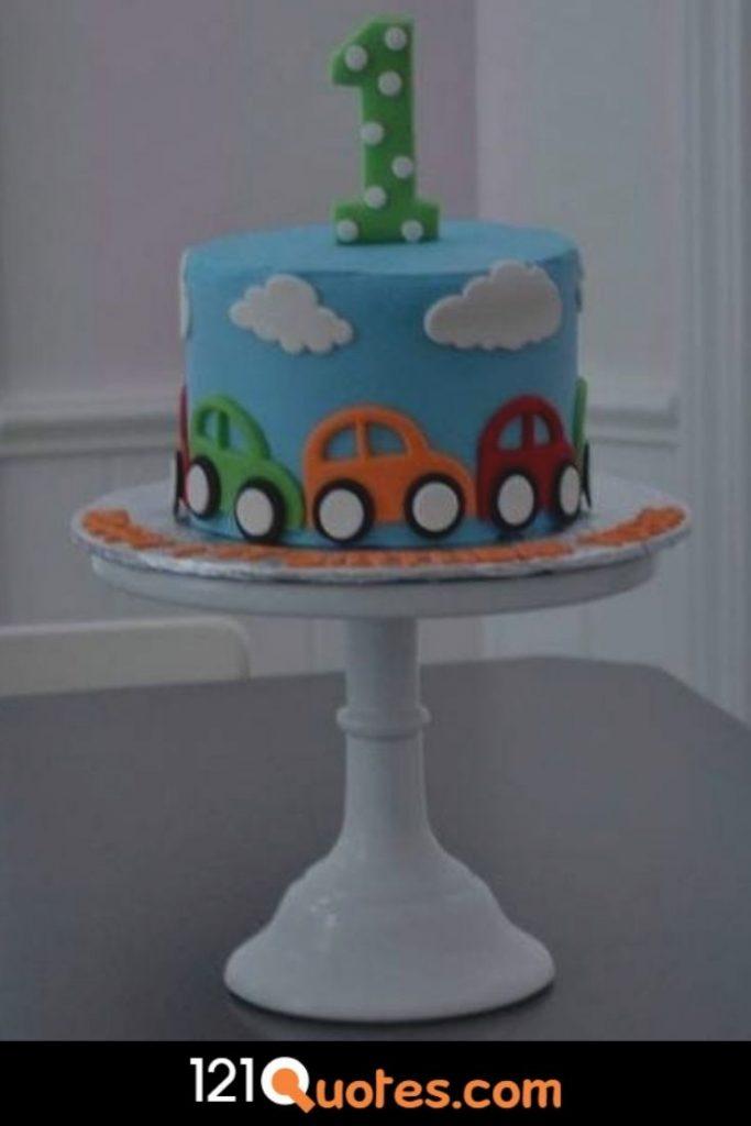 1st birthday cake ideas for baby boy