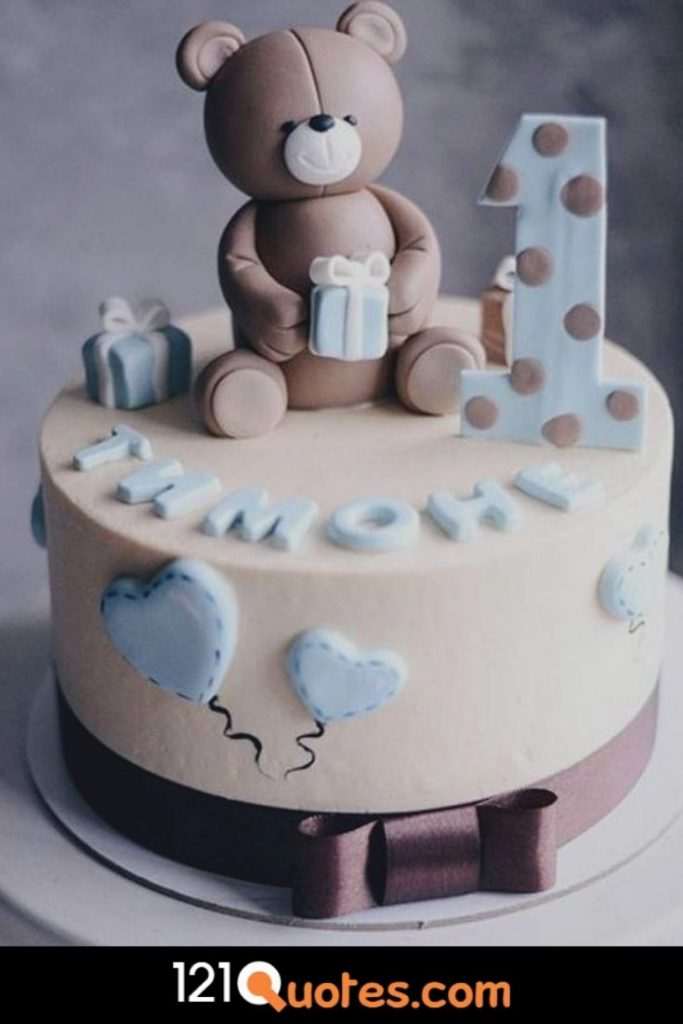 1st birthday cake images for boy