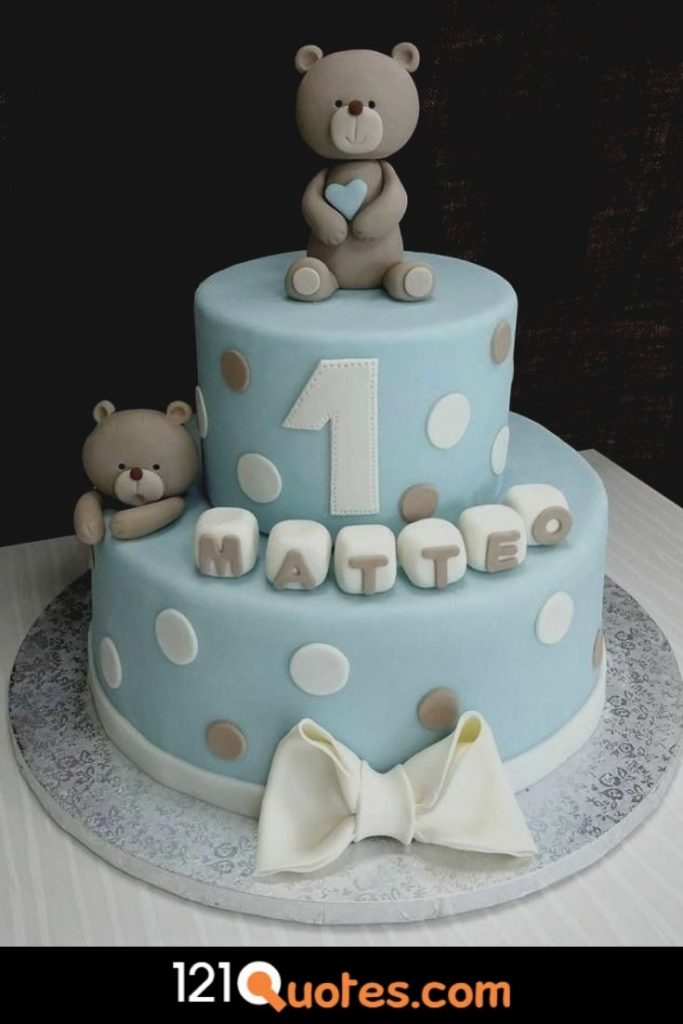 1st birthday cake images for boy in hd