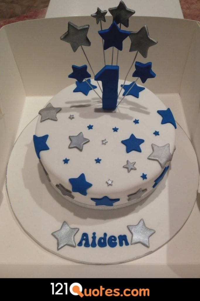 baby boy 1st birthday cake ideas