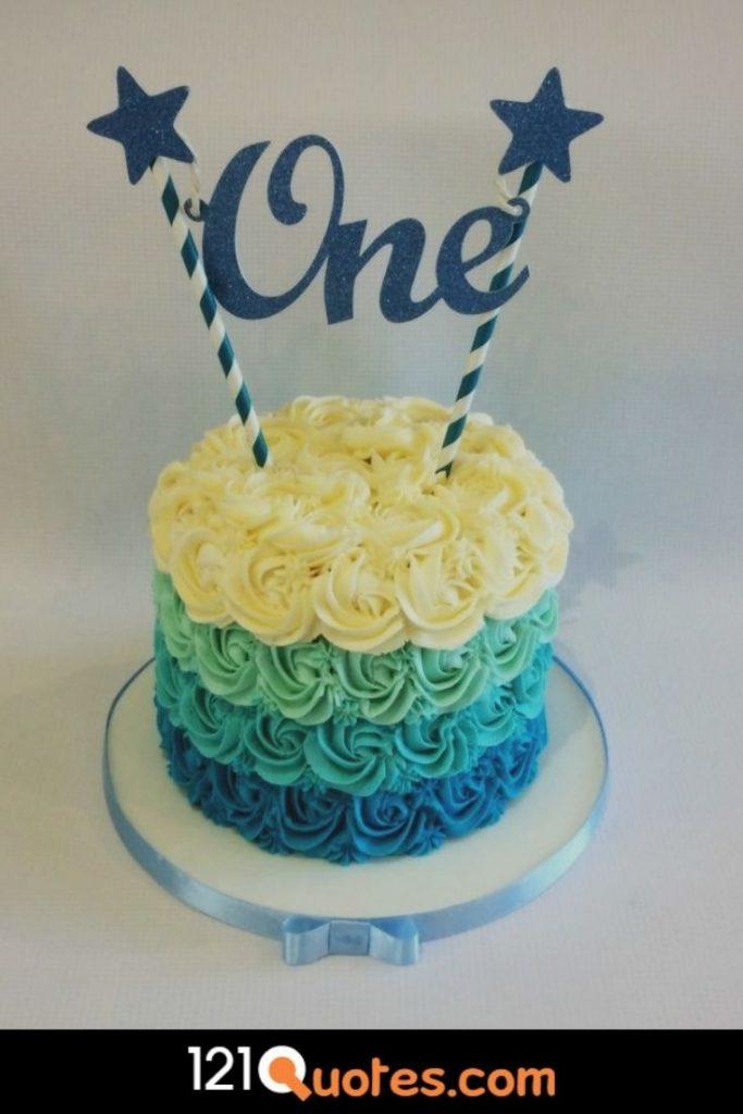boy 1st birthday cake designs