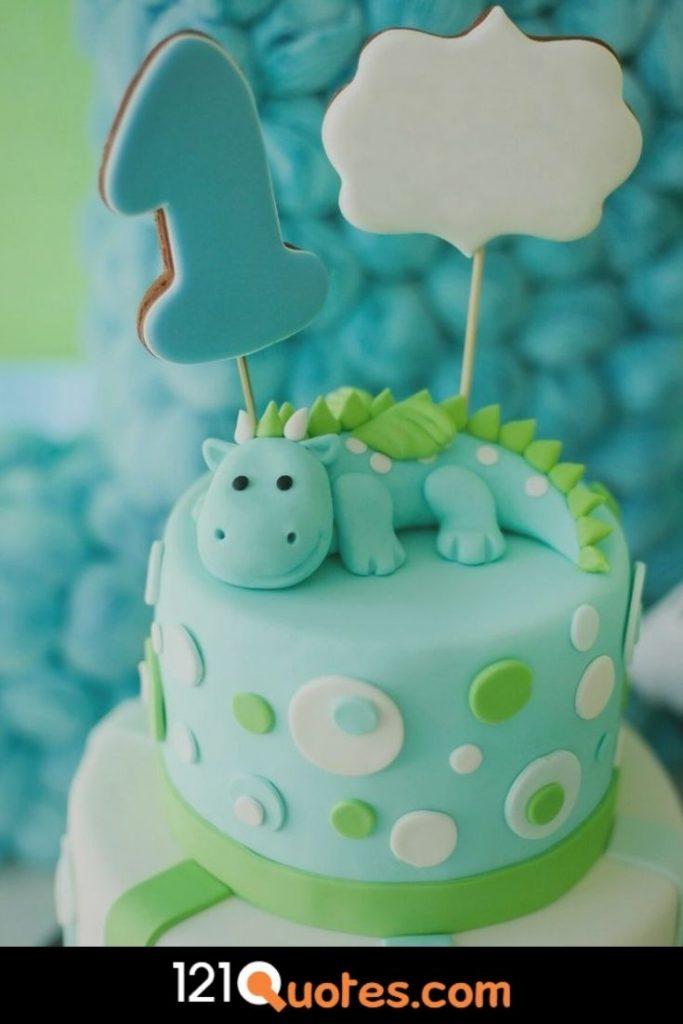 ideas for 1st birthday cake boy