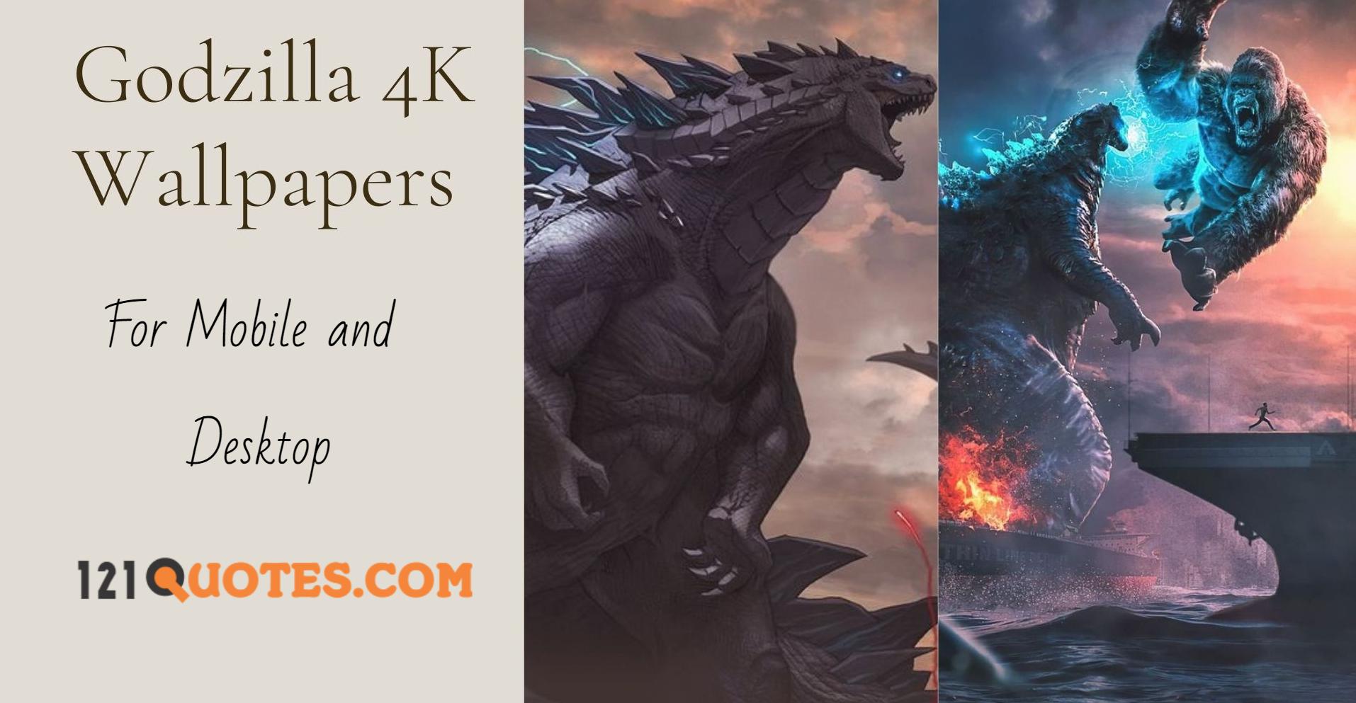Godzilla 4K Wallpapers
