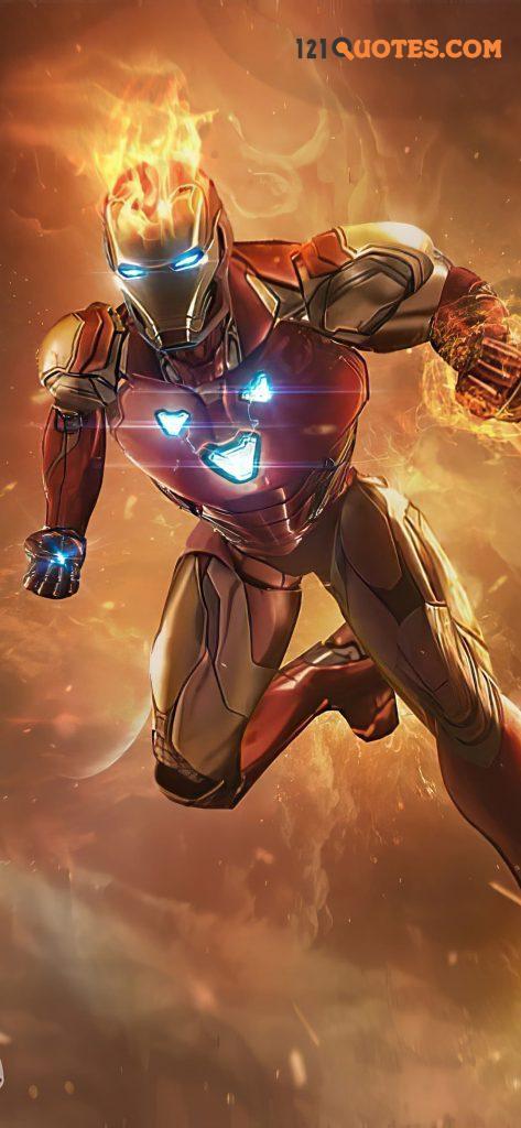 iron man infinity war suit wallpaper
