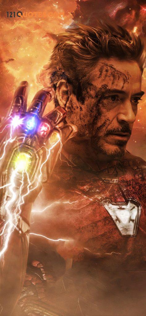 iron man wallpaper endgame