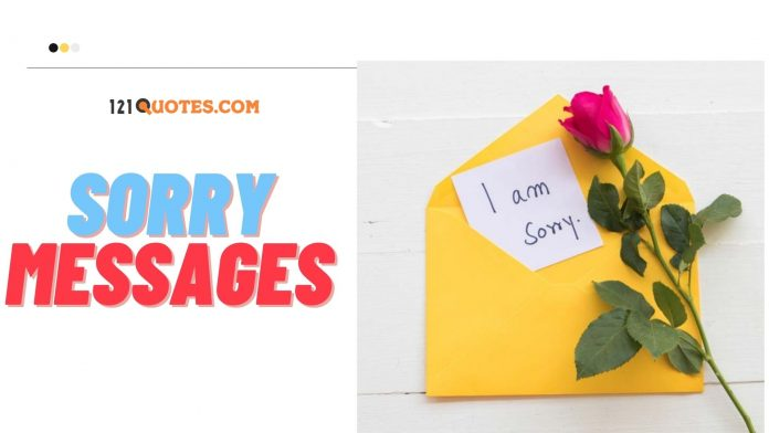 Sorry Messages For Friends