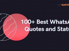 Best WhatsApp Quotes