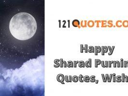Happy Sharad Purnima 2021 Quotes